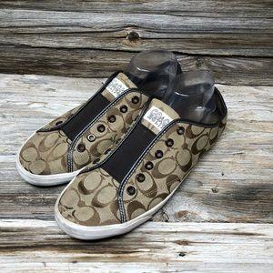 Coach Shoes - Coach Bev Sneaker Womens Icon Sneaker Brown Casual